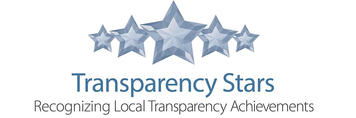 Transparency Stars, Recognizing Local Transparency Achievements