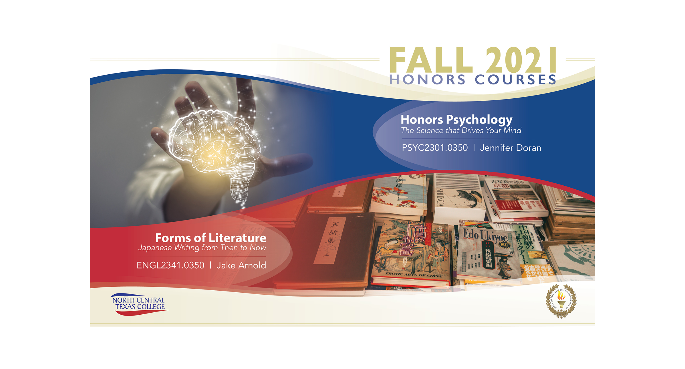 Honors Courses Available this Spring 2022 semester