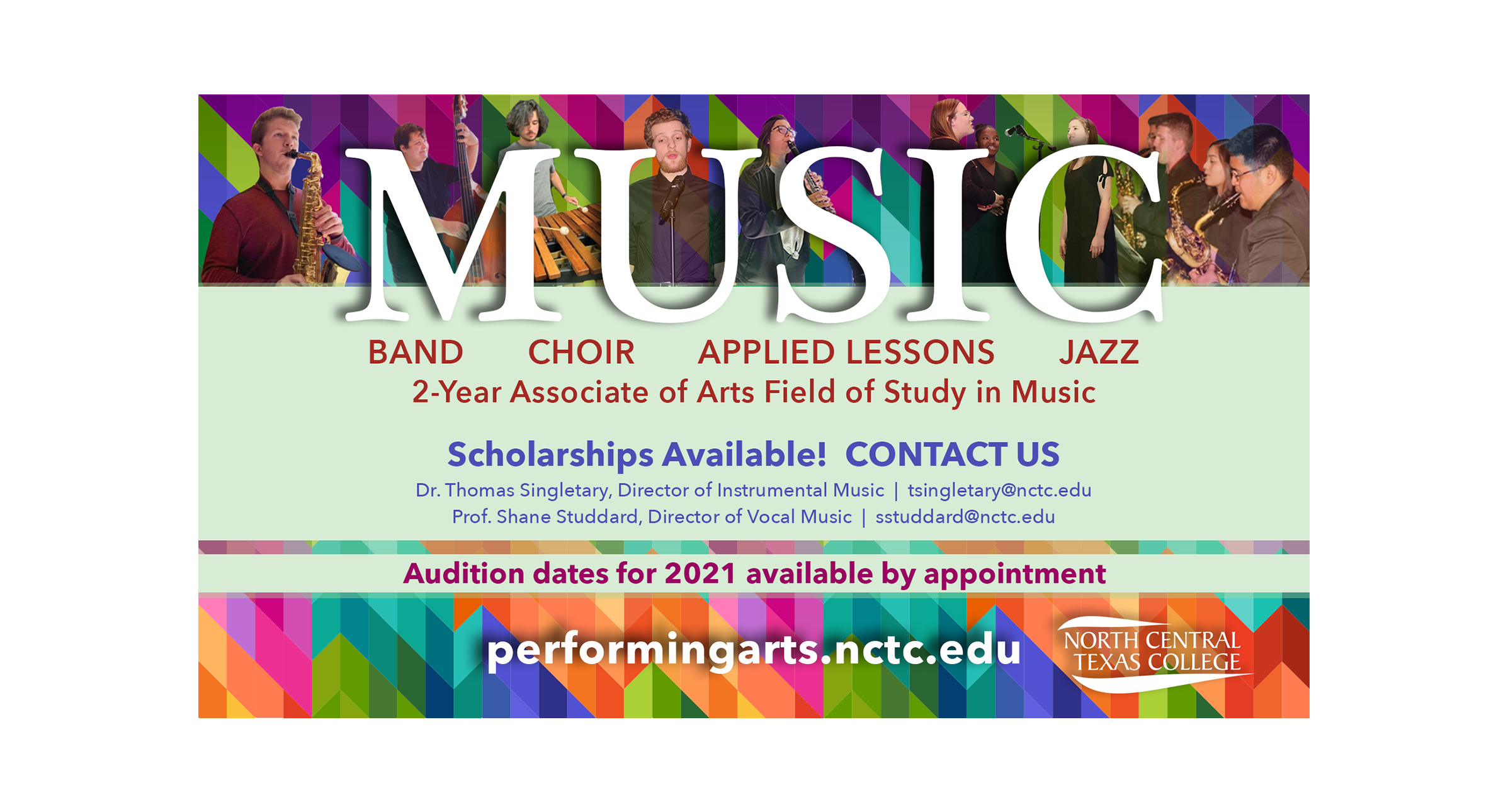 Music Programs at NCTC