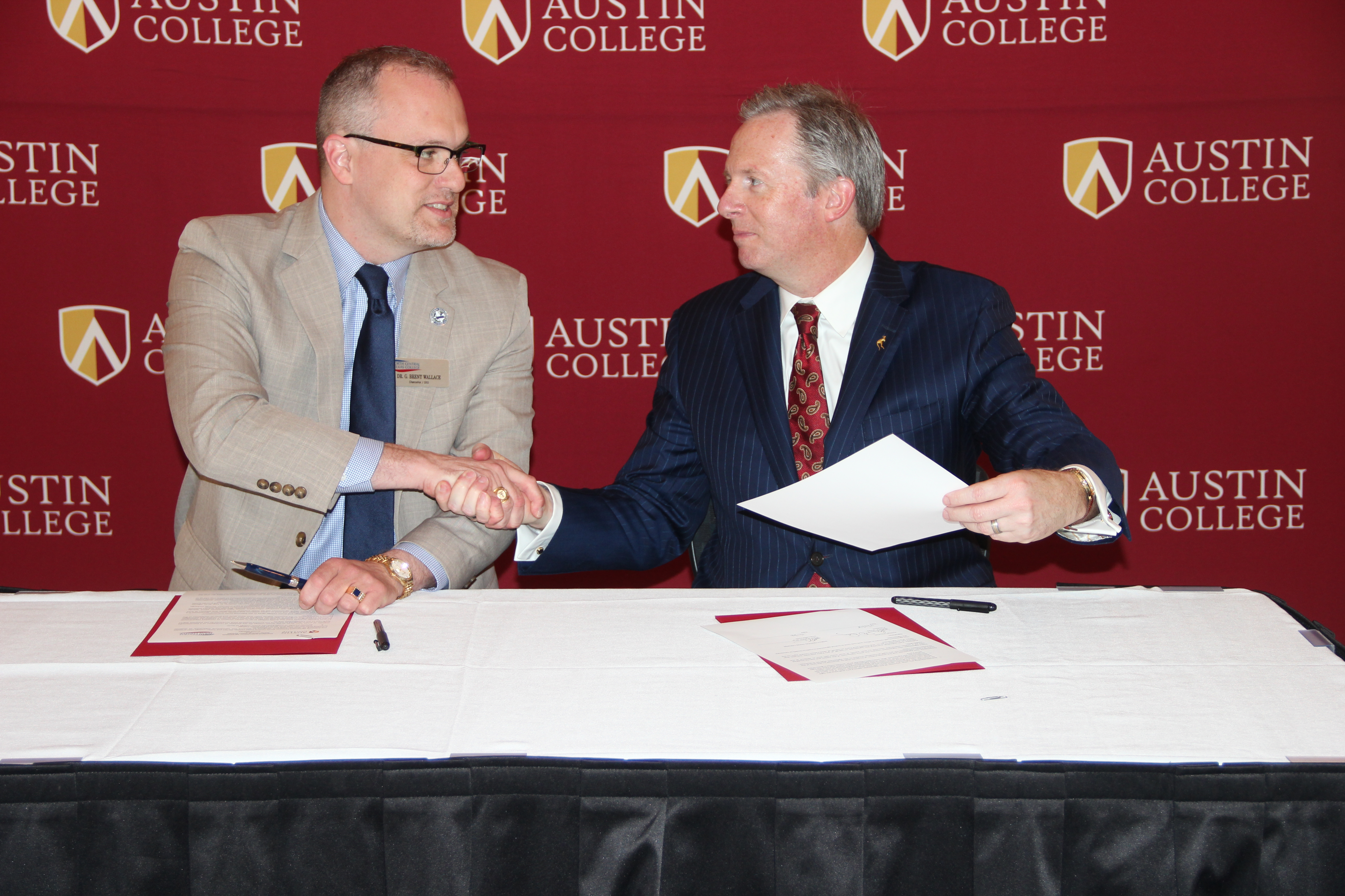 NCTC and Austin Partnership Signing